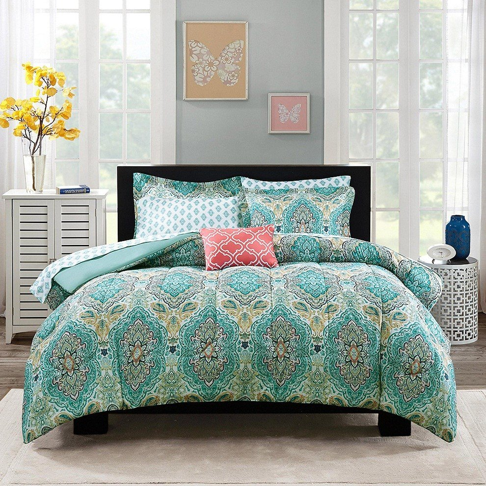 Best Extraordinary Blue Paisley Bedding For Ordinary Bedroom With Pictures