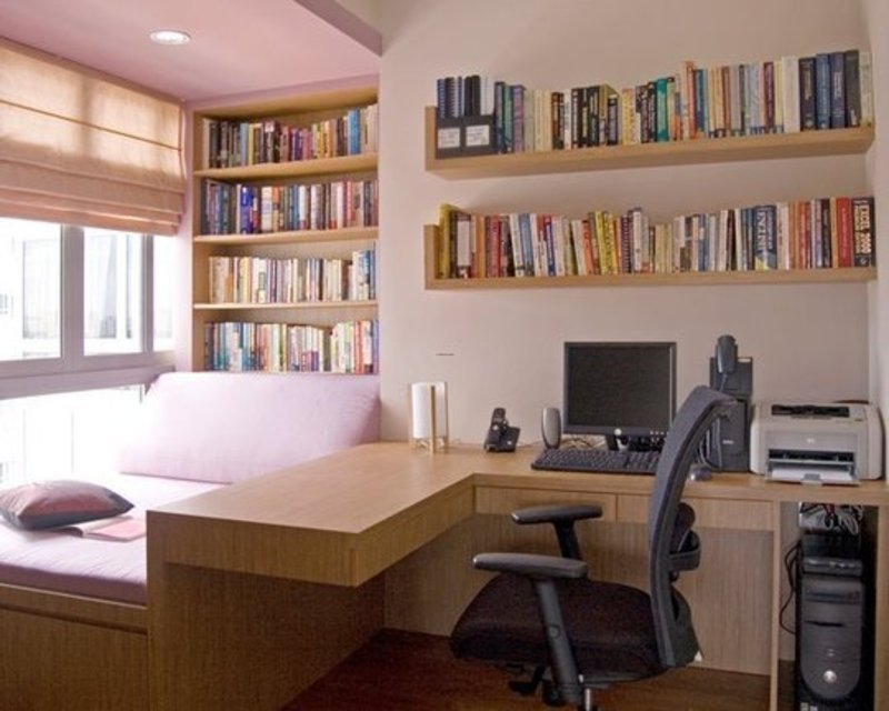 Best Office Planning – Home Office Interior Design Ideas With Pictures