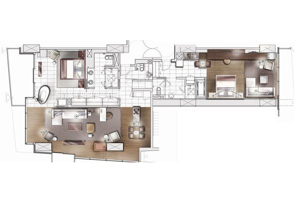 Best Two Bedroom Suite At Palms Place In Las Vegas Elite Penthouses With Pictures