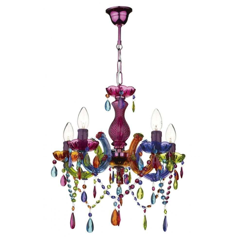 Best Modern Multi Coloured Ceiling Chandelier Great For Girls With Pictures