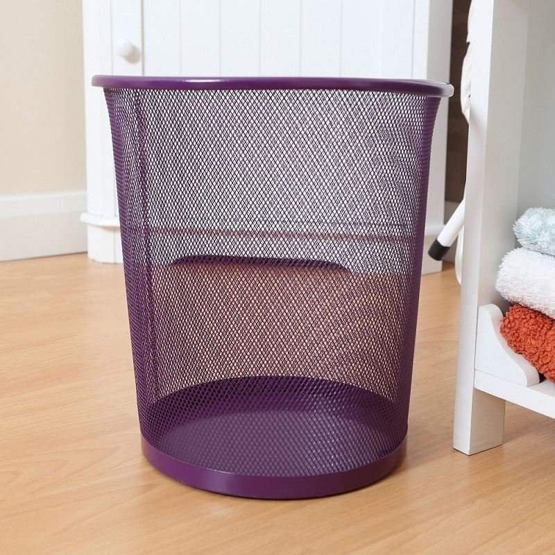 Best Large Colourful Metal Mesh Waste Paper Basket Office With Pictures