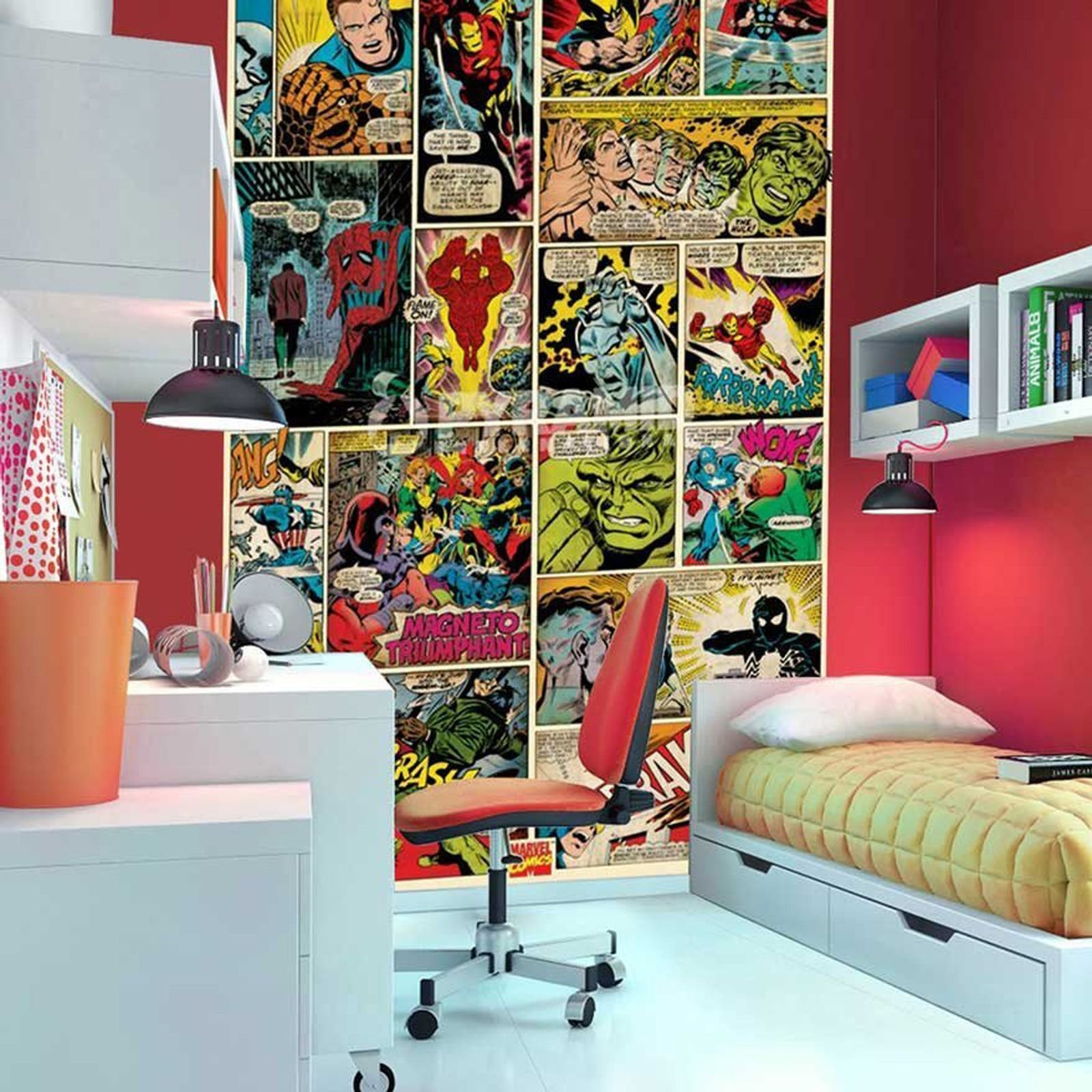 Best Marvel Comics And Avengers Wallpaper Wall Murals Décor With Pictures