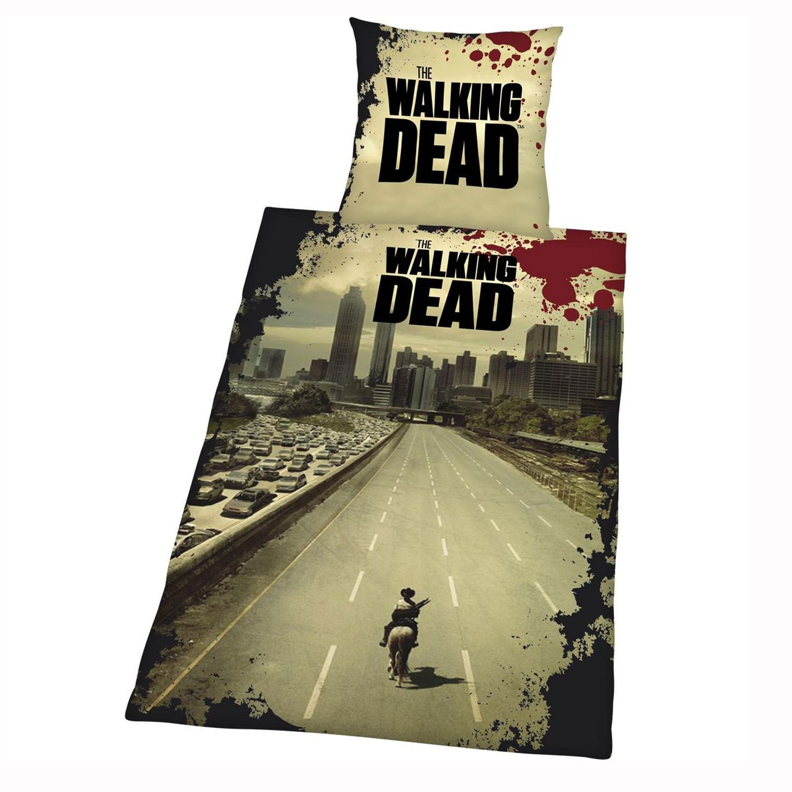 Best The Walking Dead Duvet Cover Set New Official Zombie With Pictures