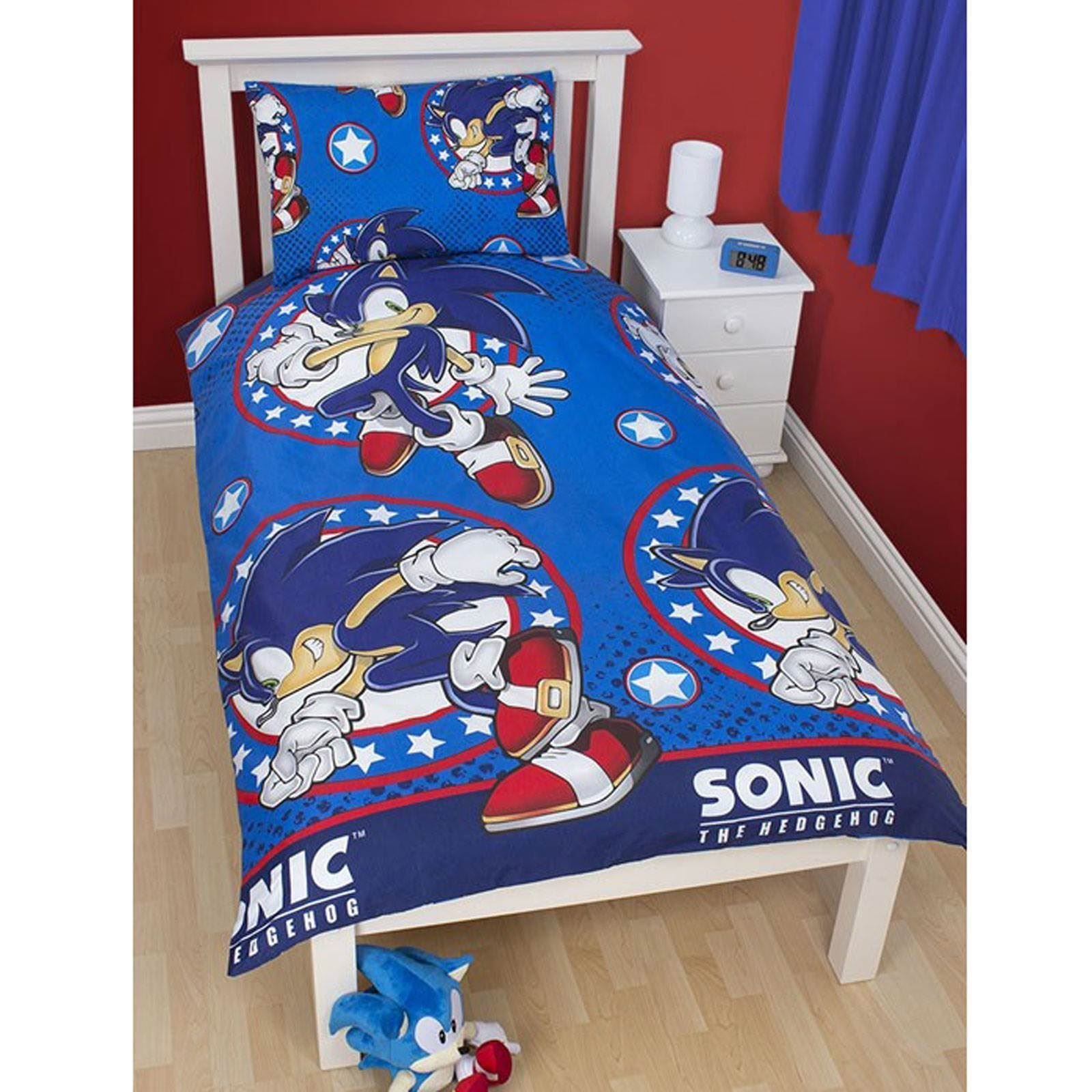 Best Sonic The Hedgehog Bedroom – Single Double Duvet Covers Blankets Towels Ebay With Pictures