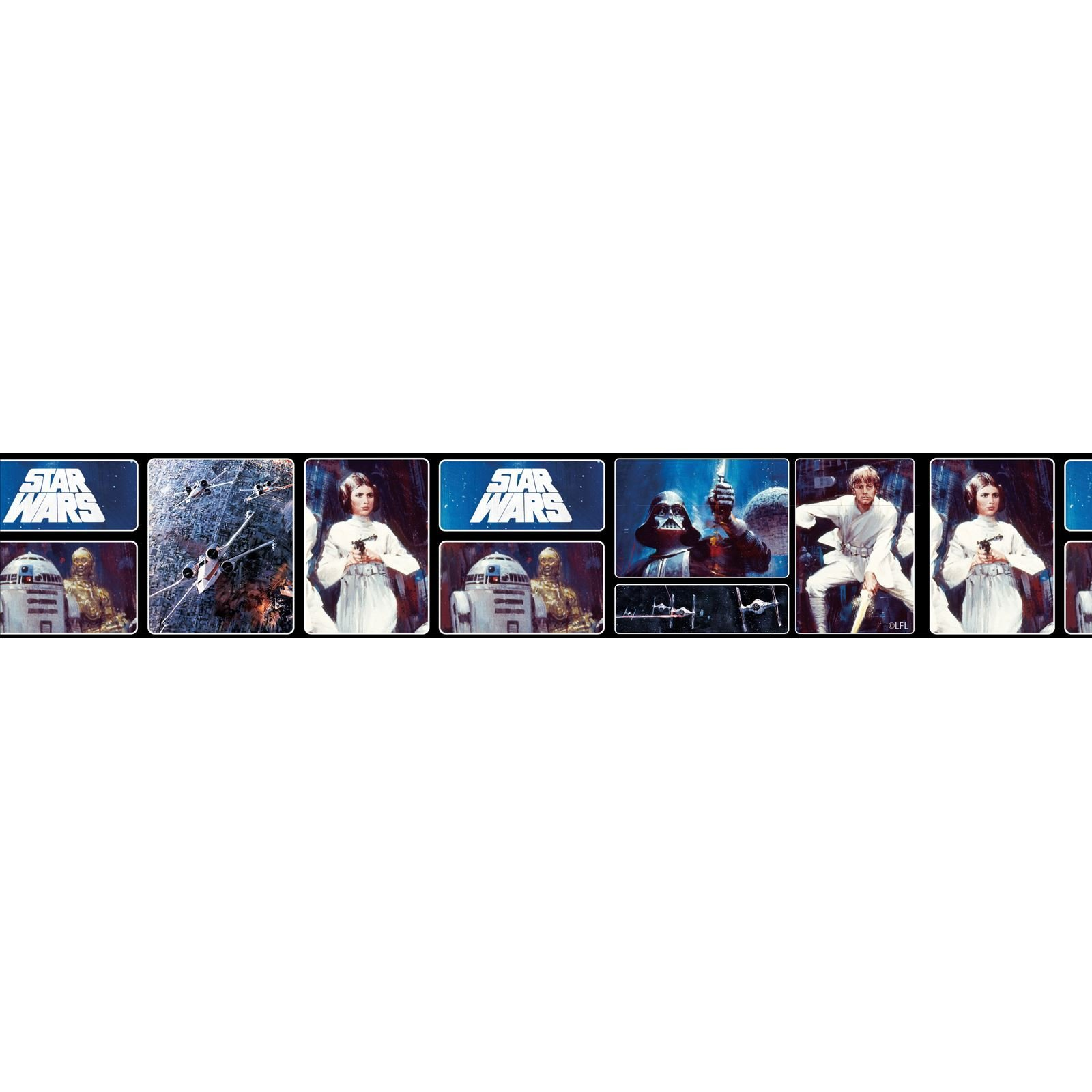 Best Boys Character Self Adhesive Wallpaper Borders Star Wars With Pictures