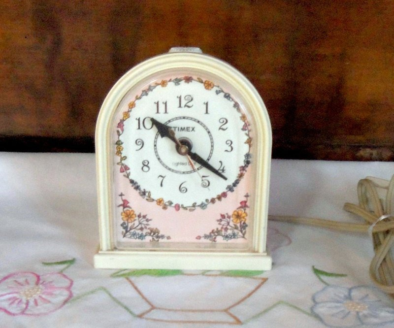 Best Vintage Timex Clock Girls Bedroom Alarm Clock By Misstiques With Pictures