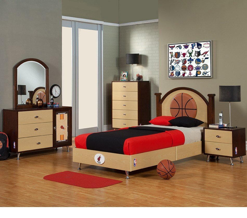 Best Interesting Sports Themed Bedrooms For Kids Interior With Pictures