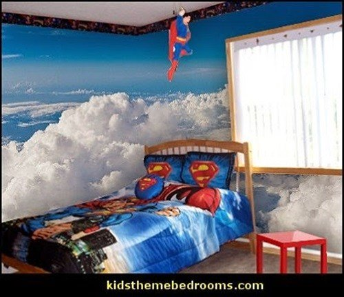 Best Superman And Batman Themes For Kid S Bedrooms Interior With Pictures