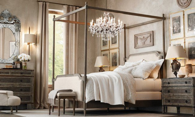 Best Bedroom Furniture Sets Restoration Hardware Interior With Pictures