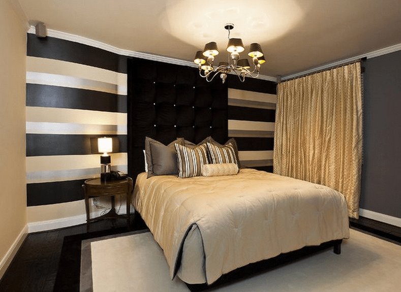 Best Black And Gold Bedroom Design Giving A Luxury Themed With Pictures