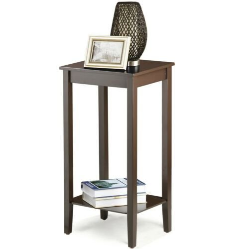 Best Tall Wood Side End Coffee Table Bedside Nightstand Tables With Pictures