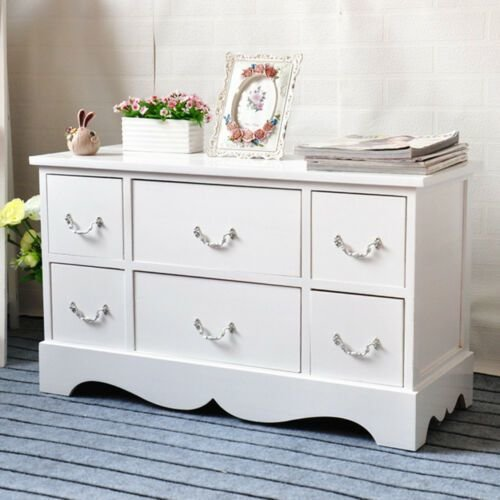 Best White Wood Shabby Chic Tv Stand Chest Of Drawers Storage With Pictures