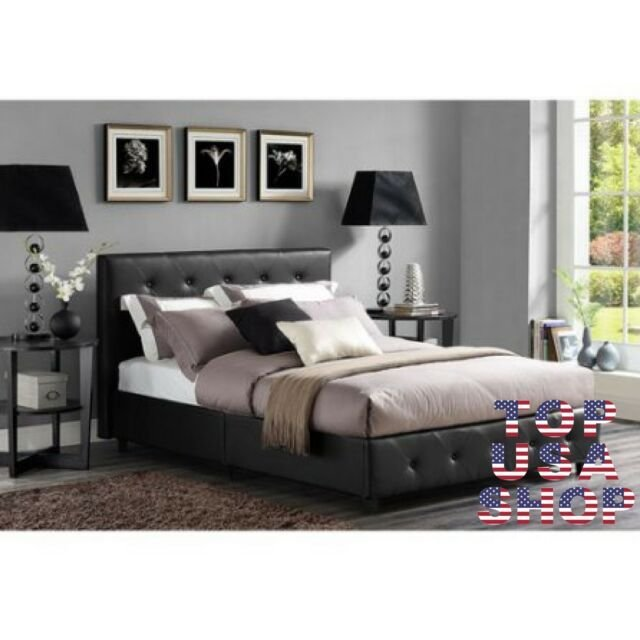 Best 3 Piece Queen Bedroom Furniture Set Modern Leather Bed With Pictures