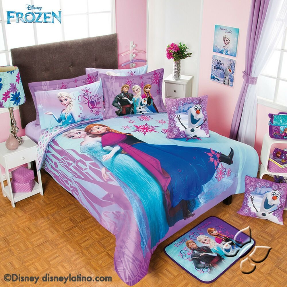 Best New Girls Disney Purple Blue Frozen Olaf Ana Elsa With Pictures
