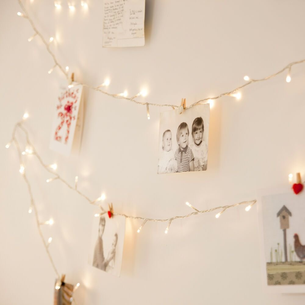 Best 100 Warm White Led Indoor Bedroom Xmas Fairy String Lights With Pictures