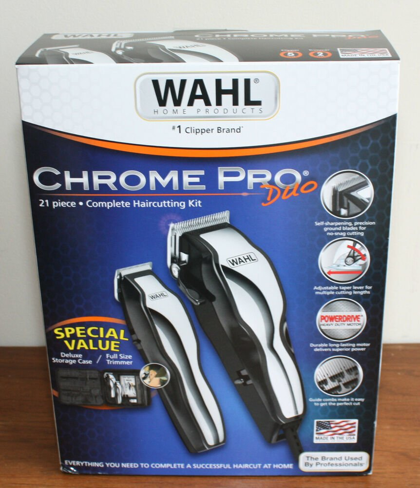 Free New Haircutting Kit Wahl Pro Duo Deluxe Nylon Case Made In Wallpaper