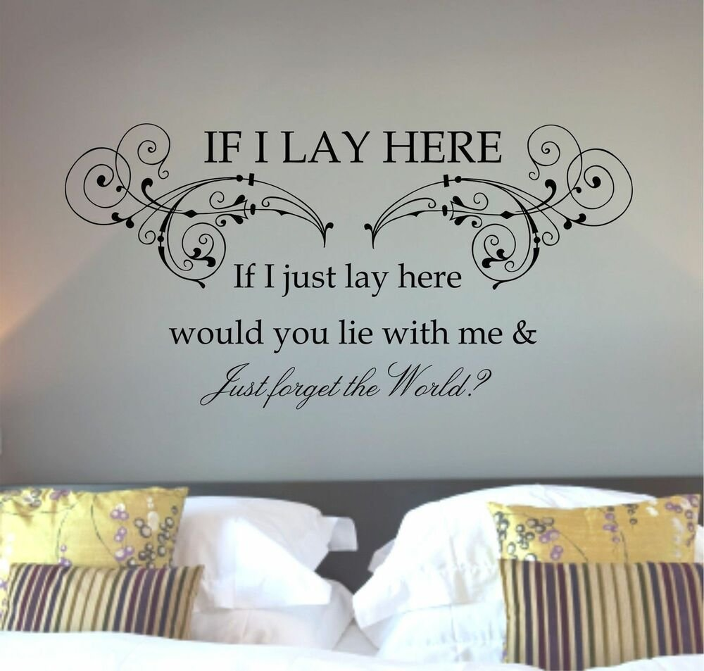 Best Snow Patrol Chasing Cars Lyrics Song Quote Wall Art With Pictures