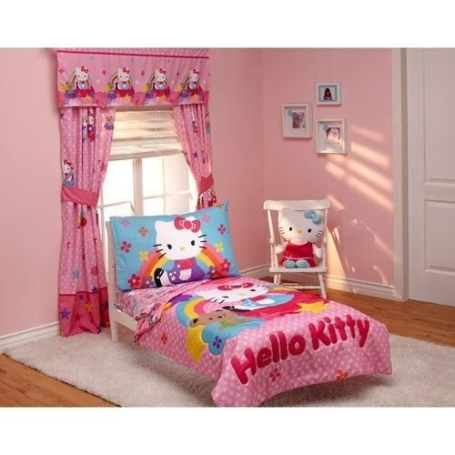 Best Hello Kitty Stars And Rainbows 4 Piece Cats Kittens With Pictures