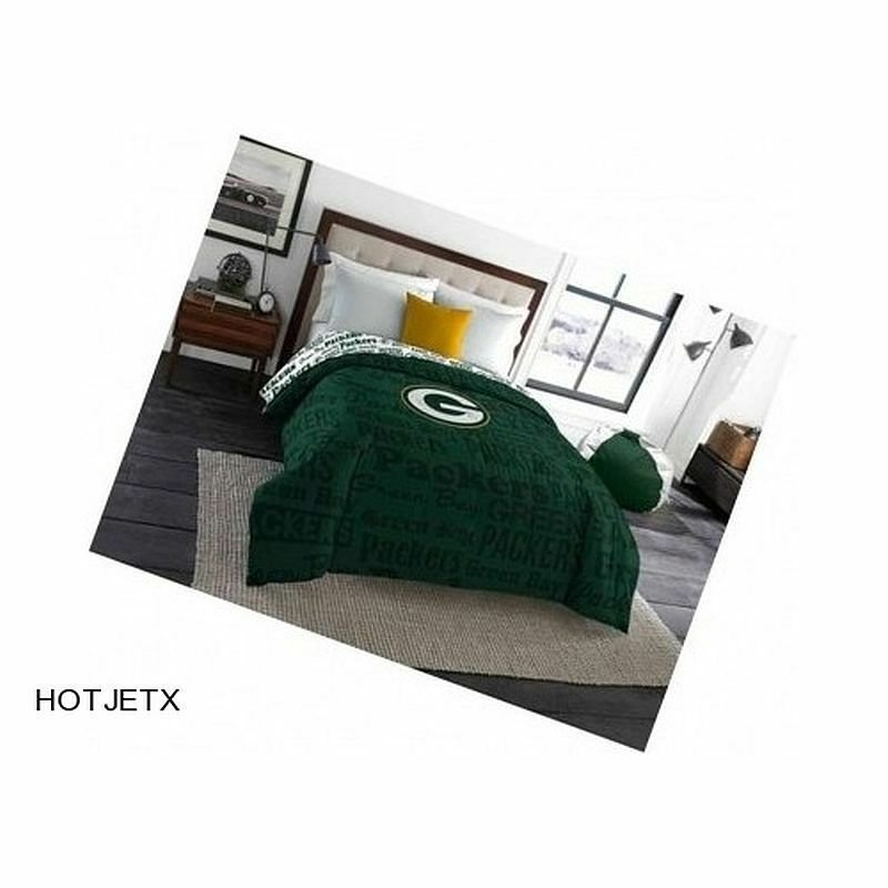 Best Green Bay Packers Comforter Twin Full Nfl Football Home With Pictures
