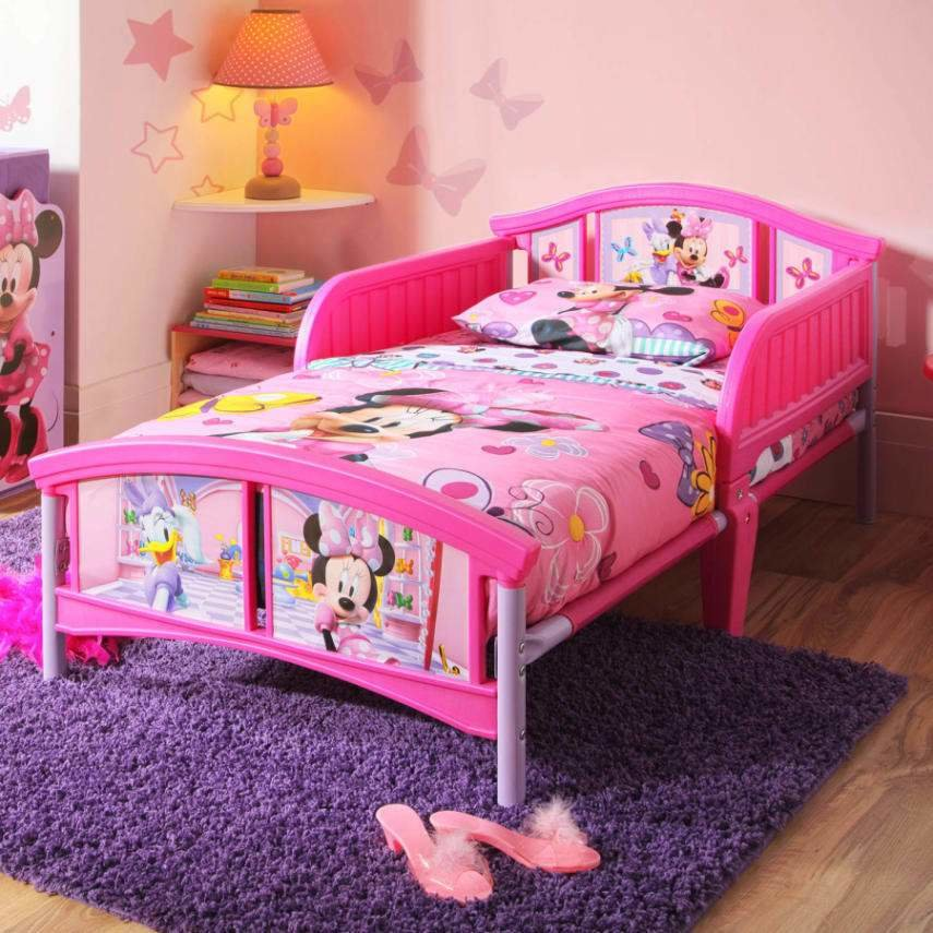 Best Disney Minnie Mouse Plastic Toddler Bed Ebay With Pictures