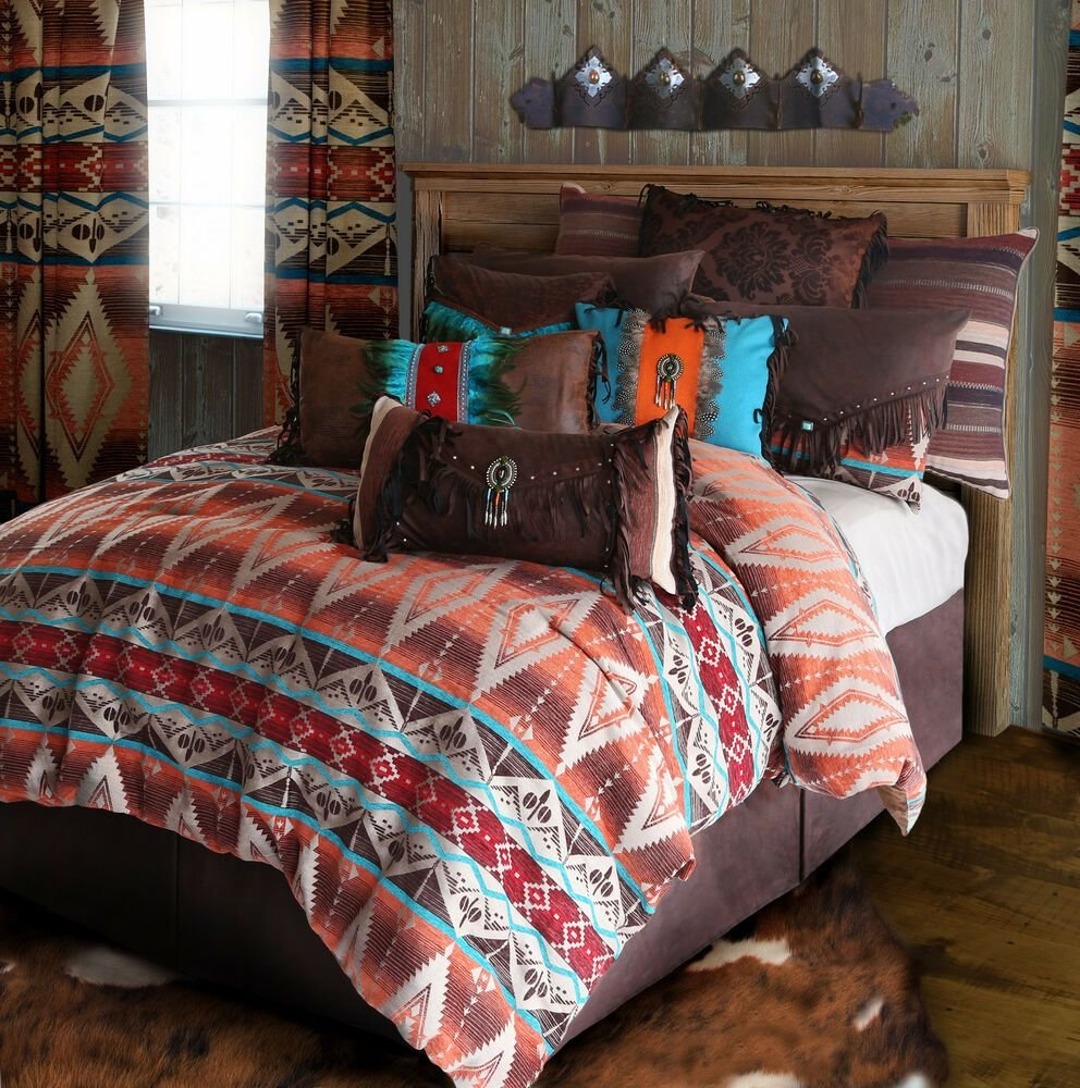 Best Mojave Sunset Tuscan Rustic Western Comforter Bedding Set With Pictures