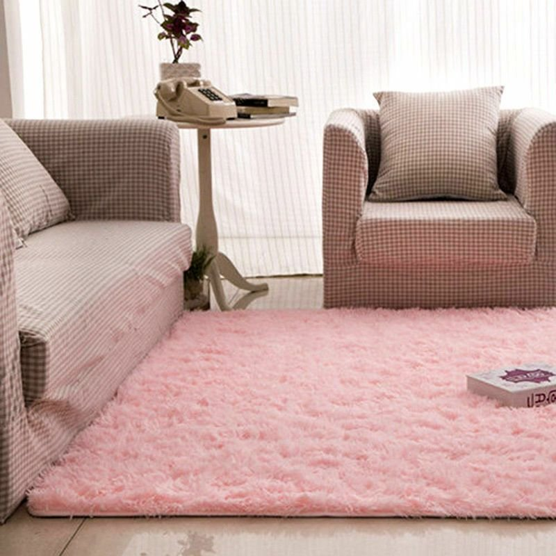 Best 4 X 5 Soft Living Room Carpet Sh*G Rug For Dining With Pictures
