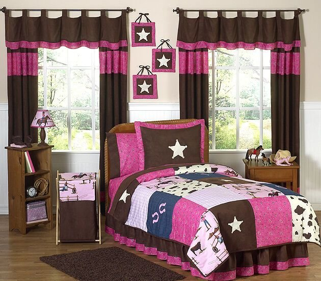Best Sweeet Jojo Designs Western Horse Pink And Brown Girl Kids With Pictures