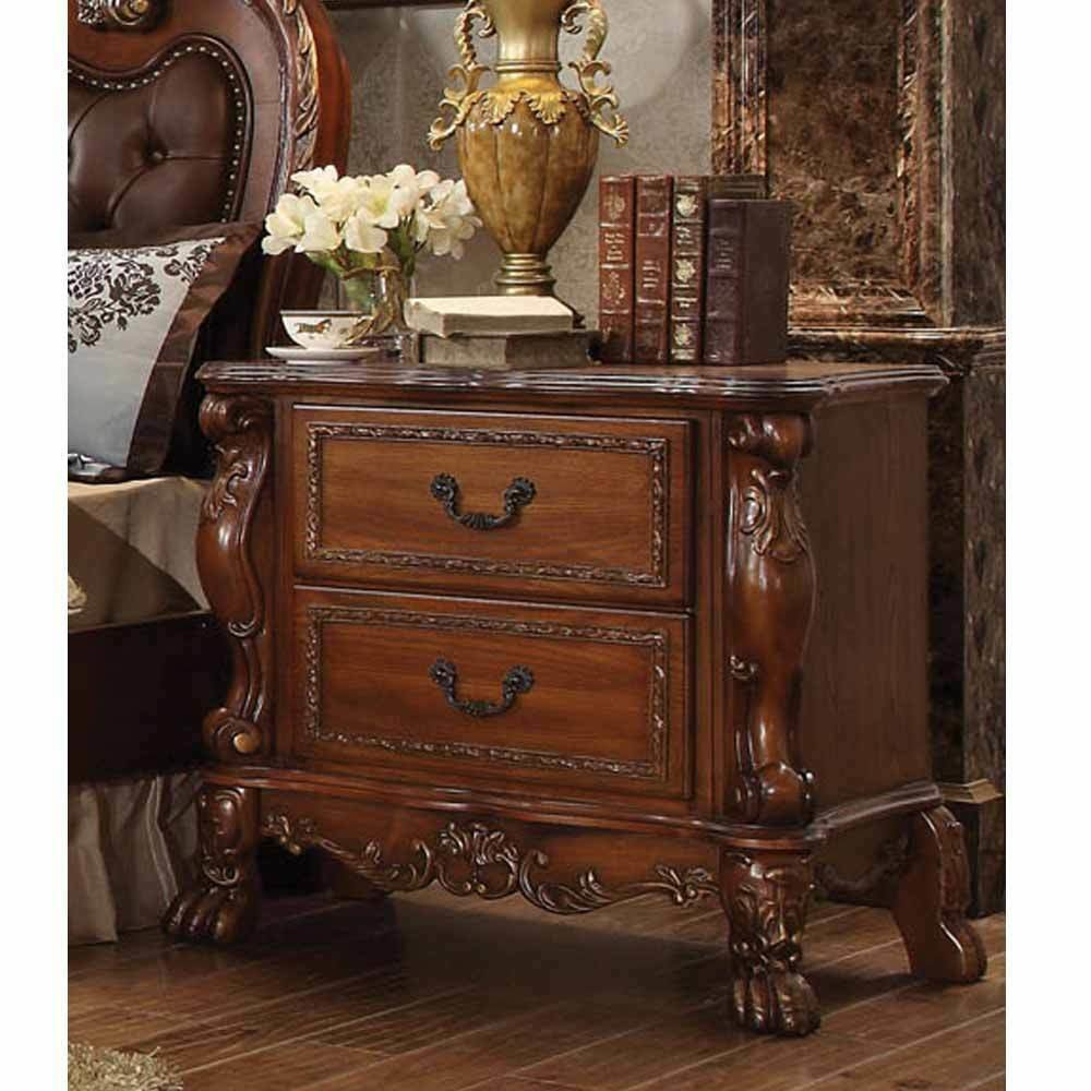 Best Dresden Antique Bedroom Night Stand Storage Drawers Solid With Pictures