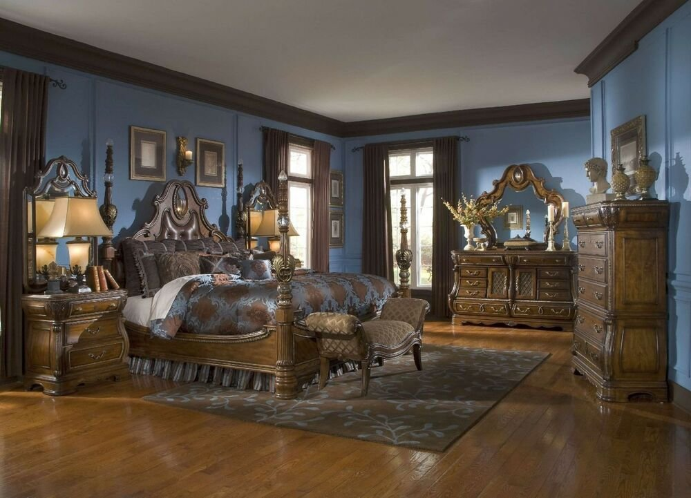 Best The Sovereign Traditional Luxury King Poster Bed Bedroom With Pictures