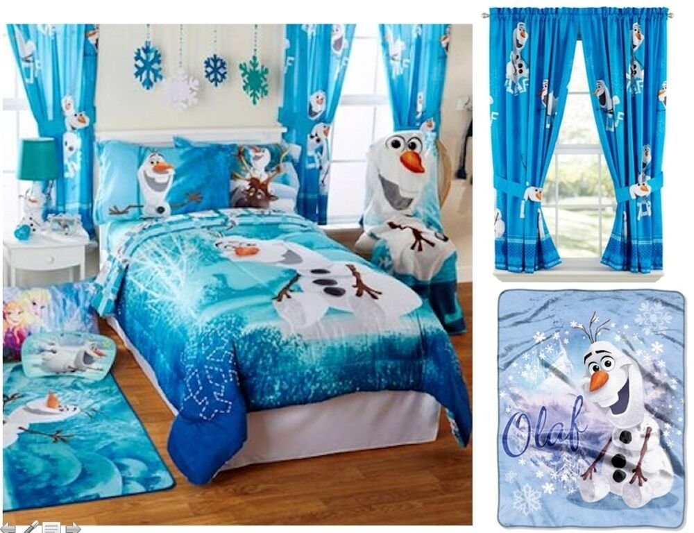 Best New Kids Boys Disney Frozen Olaf Bedding Bed In A Bag With Pictures