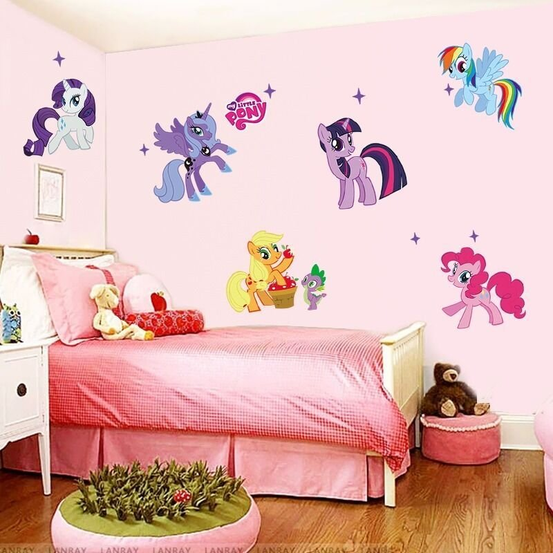 Best My Little Pony Kids Room Decor Quote Wall Sticker Wall With Pictures