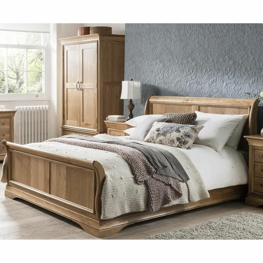 Best Marseille Solid French Oak Furniture 6 Super King Size With Pictures
