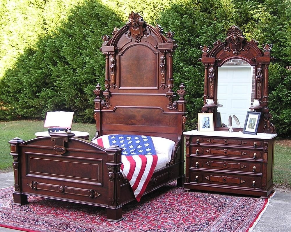 Best Historical Victorian President S Bedroom Set Ebay With Pictures