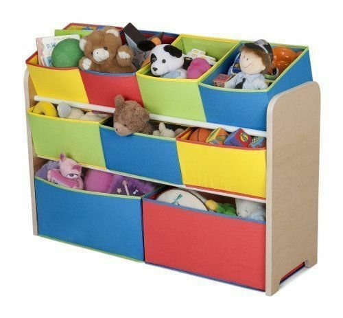Best New Colorful Toy Organizer With Storage Bins For Kids Playroom Bedroom Ebay With Pictures