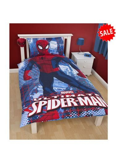 Best Spiderman Duvet Covers Curtains Accessories Bedroom Decoration Special Offer Ebay With Pictures