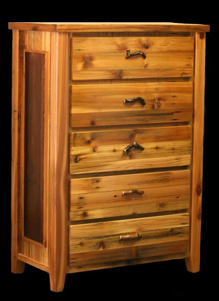 Best Custom Rustic Country Western Dresser Cabin Log Bedroom Wood Furniture Decor Ebay With Pictures