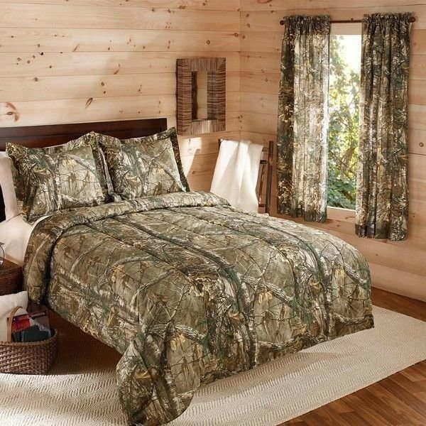 Best Camouflage Realtree Bedding Comforter Set W Shams Camo With Pictures