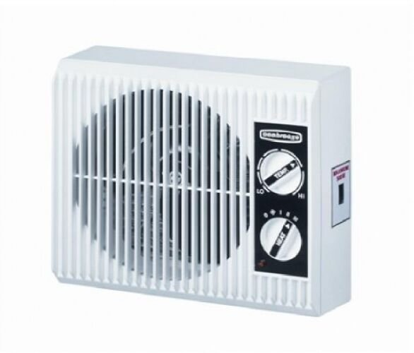 Best Electric Space Heater Fan Outlet Wall Mount Bathroom Bedroom Space Saver 1500W Ebay With Pictures