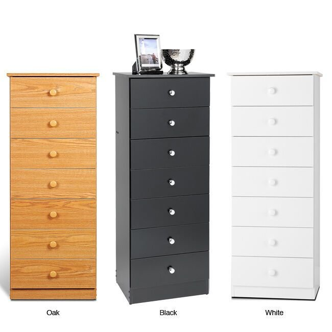 Best L*Ng*R** Storage Dresser Seven Drawer Chest Bedroom Furniture Tall Space Saving Ebay With Pictures