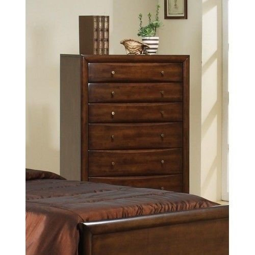 Best Tall Chest Of Drawers 6 Drawer Bedroom Highboy Wooden With Pictures