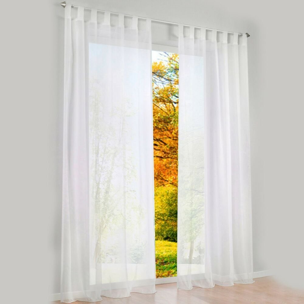 Best 1 Pcs Sheer Curtain Blackout Curtains For Bedroom Ebay With Pictures