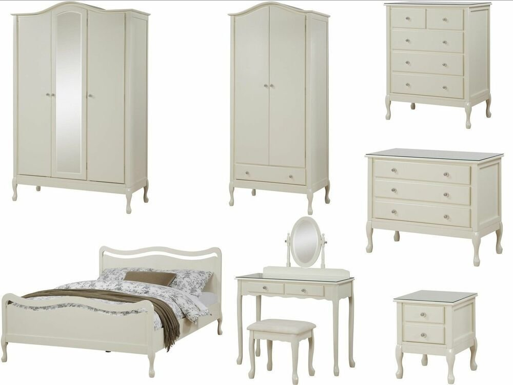 Best Loire Shabby Chic Ivory Bedroom Furniture Wardrobe With Pictures