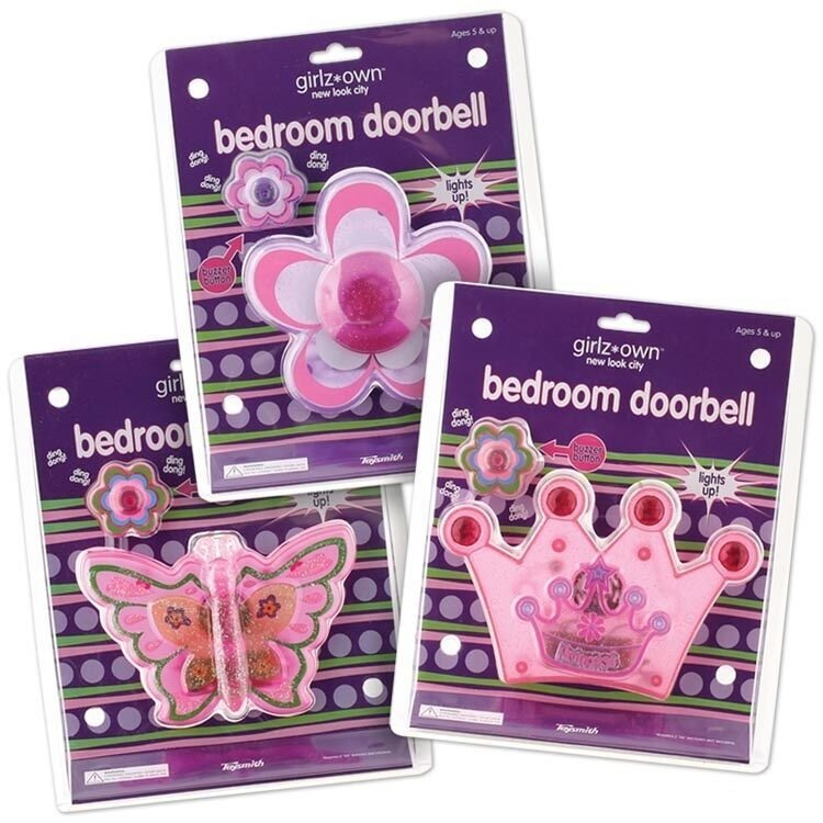 Best Princess Flower Or Butterfly Bedroom Doorbell Childrens With Pictures
