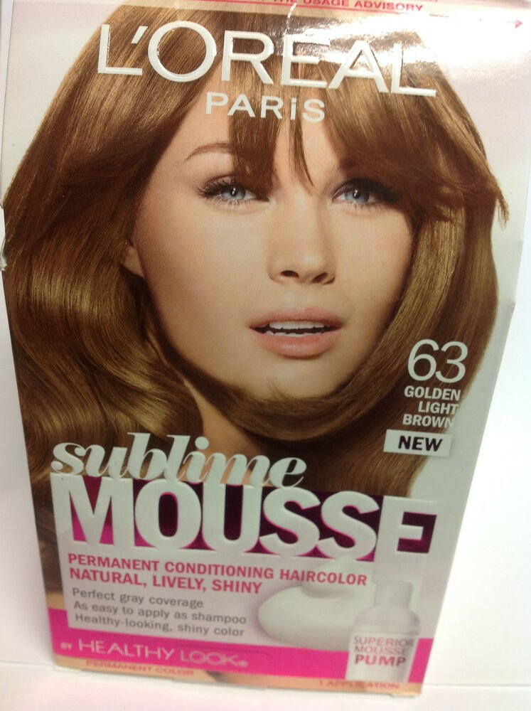 Free L Oreal Sublime Mousse By Healthy Look Hair Color Golden Wallpaper