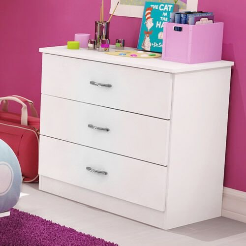 Best Bedroom South Shore Organizer Smart Basics 3 Drawer Chest With Pictures