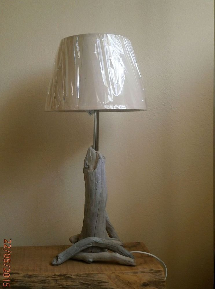 Best Unique Wood Metal Handmade Table Lamp Bedside Desk With Pictures