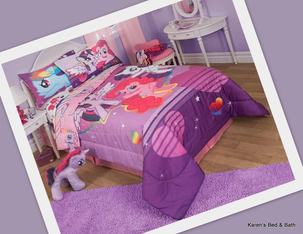 Best My Little Pony Full Bedding Collection Set Comforter With Pictures