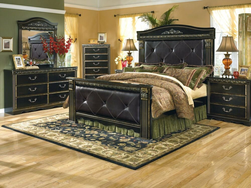 Best Ashley Furniture B175 Coal Creek Traditional Queen King With Pictures