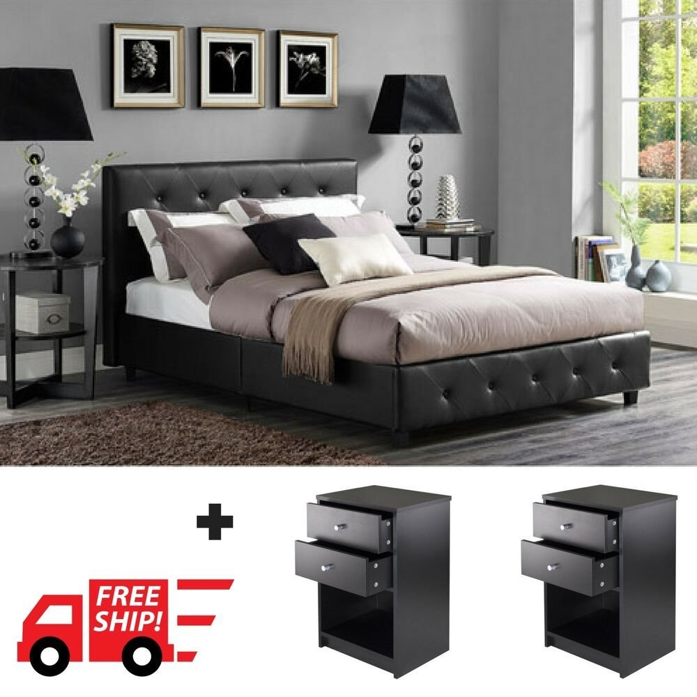 Best 3 Piece Bedroom Furniture Set Queen Full Twin Size With Pictures