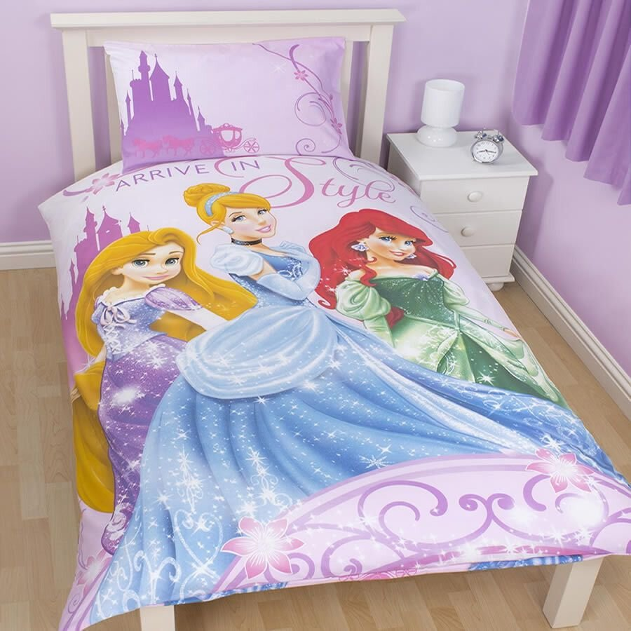 Best Disney Princess Bedroom Decor Bedding Curtains Wall With Pictures